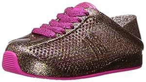 Mini Melissa Kids' Mini Love System SneakerGlass Pink Glitter10 Regular US Toddler