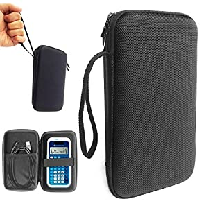 FitSand (TM) Travel Carry Zipper Portable Protective Hard Case Cover Box for Texas Instruments TI-34 MultiView Scientific Calculator