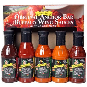 Anchor Bar 5 Pack Gift Box (Anchor Bar Buffalo Chicken Wing)