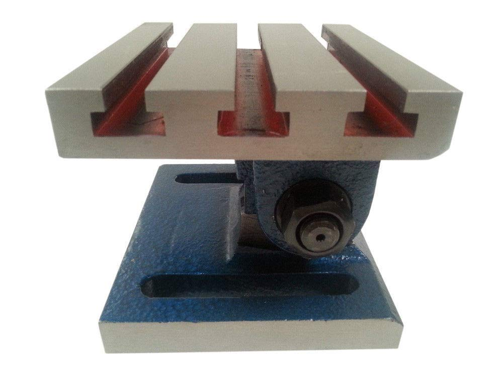 New - 5'' x 6'' Tilting Slotted Angle Plate by AI (Image #3)