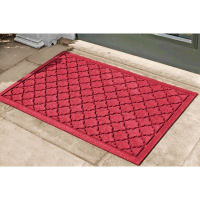 Aqua Shield Cordova Mat Size: 2' x 3', Color: Red