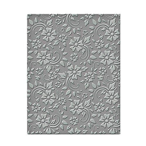 (Spellbinders SES-008 Flowers & Leaves Embossing Folder )