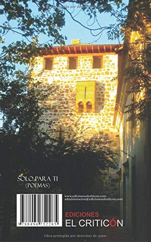 Solo para ti (Poemas) (Spanish Edition): José María Caro de ...