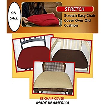 Ez Chair Covers Dining Room Pk Of 4 Brown MAX SIZE 22