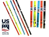 Ski Poles Carbon Composite Graphite - Zipline Blurr 16.0 U.S.- U.S. Ski Team Official Supplier (Downhill/Mens/Womens/Kids/Junior/Freestyle/Racing)