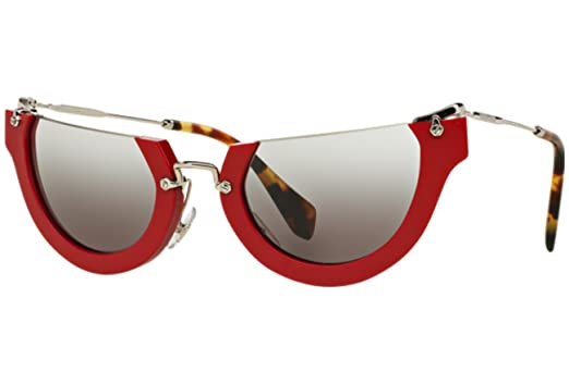 25b68c3034 Image Unavailable. Image not available for. Color  Miu Miu Butterfly  Sunglasses ...