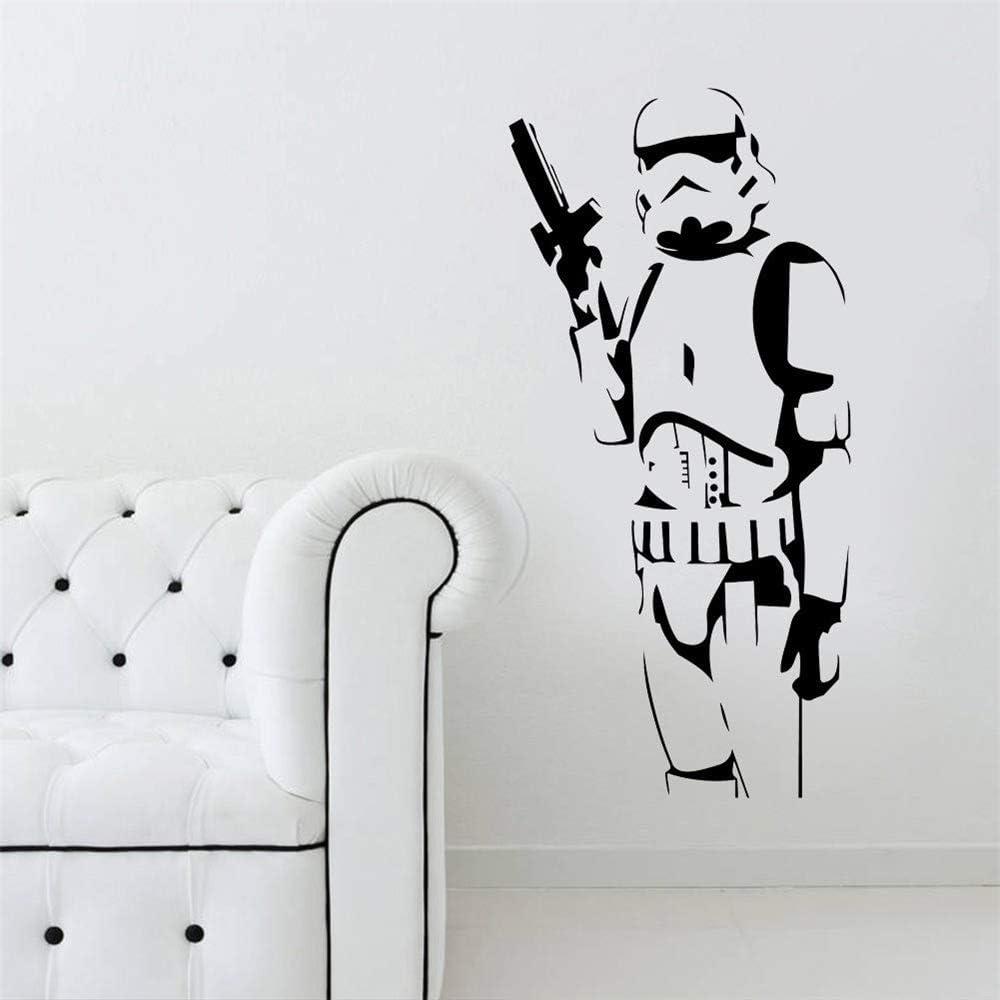 Wandtattoo Kinderzimmer Star Wars Stormtrooper Wandaufkleber Pvc Wandbild Aufkleber Removable Home Decor