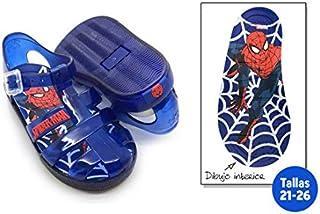 Chaussures été enfant Spiderman–Taille E2–Taille E2 IDEALCASA KIDS