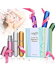 LuckyFine 6 PCS Mini Perfume Gift Set for Women, 6 Scent...