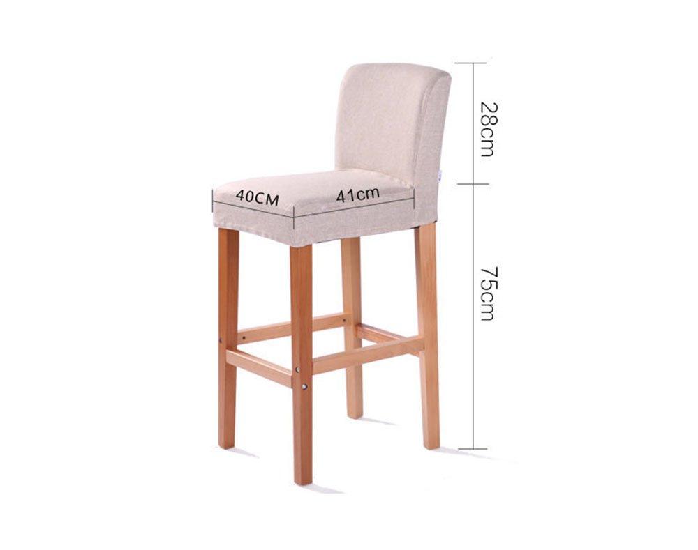 Sgabello da bar di moda reception semplice seggiolone sgabello