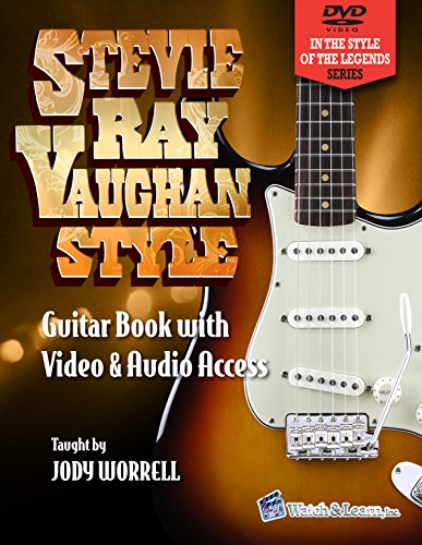 Stevie Ray Vaughan Style Guitar Book - Video & Audio Access ()