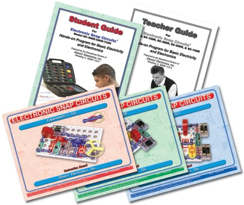 Snap Circuits PRO SC-500 Electronics Exploration Kit + Student Training Program with Student Study Guide   Perfect for STEM Curriculum by Snap Circuits (Image #2)