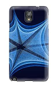 First-class Case Cover For Galaxy Note 3 Dual Protection Cover String Art