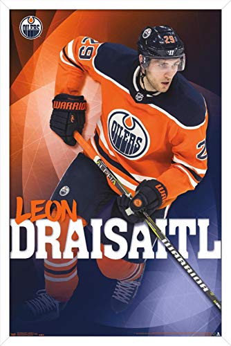 Trends International NHL Edmonton Oilers - Leon Draisaitl Wall Poster, 14.725