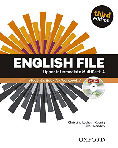 English File third edition: English File 3rd Edition Upper-Intermediate. Multipack a (Inglés) Tapa blanda – 1 ago 2014 Clive Oxenden S.A. 0194558622 Inglese