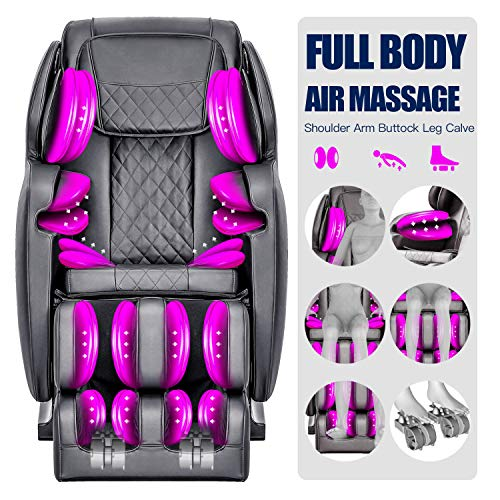 OOTORI SL Massage Chair, Full Body Air Massage, 3-Row-Footroller Roller Massage from Neck to Hip...