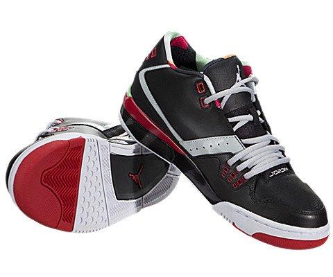 Jordan Nike Men's Flight23 Black/White/Gry MST/Unvrsty RD Basketball Shoe 12 Men US by Jordan (Image #2)