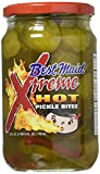 xtreme pickles - Best Maid Xtreme Hot Pickle Bitez 24oz Jar (Pack of 2)