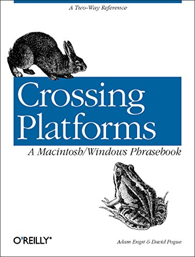 Crossing Platforms A Macintosh/Windows Phrasebook: A Dictionary for Strangers in a Strange - Crossing In Stores Downtown