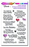 Stampendous SSC1238  Clear Stamps, Love Always