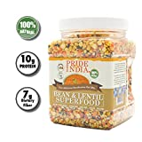 Pride Of India - 5-Delicious Bean & Lentil Panchrattan Dal Mix, 1.5 Pound Jar