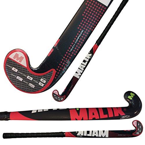 Malik Hockey Junior Field Hockey Stick Junior Carbon-Tech HEAT Outdoor Multi Curve image