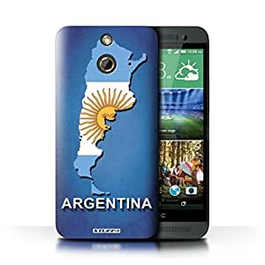 KOBALT? Protective Hard Back Phone Case / Cover for HTC One/1 E8 | Argentina/Argentinean Design | Flag Nations Collection
