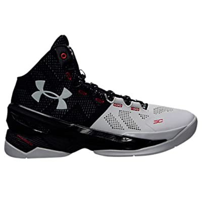 1259007-101 MEN UA CURRY 2 UNDER ARMOUR WHT/BLK/MSV