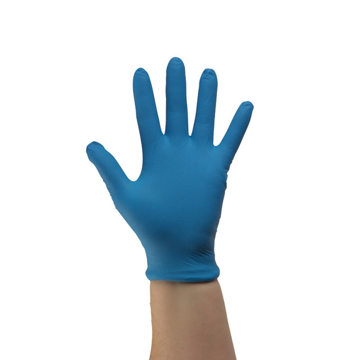 UltraSource 441230-4XL Disposable Nitrile Gloves, 6 mil, Powder Free, 4X-Large, Blue (Pack of 100) by UltraSource