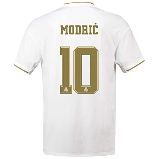 QAZW Maillot de Local Real Madrid 7 Azar 10 Modric Maillot ...
