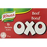 Knorr Oxo Beef Bouillon Sachets, 14-count
