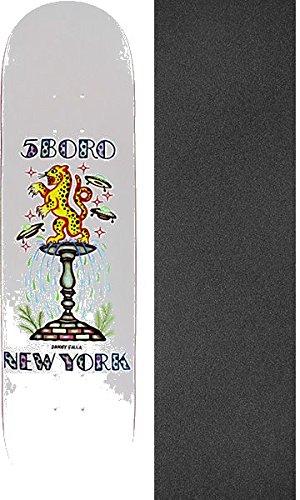 5Boro NYC スケートボード Falla x DS スケートボードデッキ - 7.75インチ x 32インチ Jessup グリップテープ - 2点セット   B07CVDQLP6, ニッシンシ ea11af50