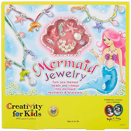 Creativity for Kids Mermaid Jewelry - String Mermaid