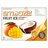Smooze Mango Fruit Ice Lollies 5 x 65ml - Pack of 4