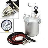 500 high fiber recipes - High Pressure Pot Air Paint Spray Gun 2 1/4 Gallon Hose Gauge Set Paint Industrial Painting Tool
