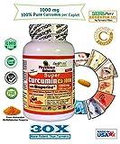 Best Curcumin 1000mgs - Physician Naturals Super Curcumin 1000 with Bioperine 1000mg Review
