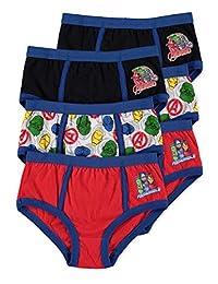 Avengers Boys Underwear | Briefs 6-Pack Size 6X