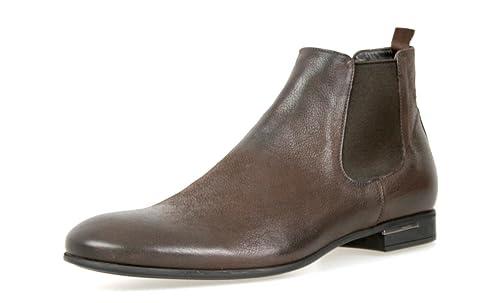 3756b1788911 Prada Men s 2T2723 FIA F0FHJ Brown Leather Half-Boot EU 9 (43)   US ...