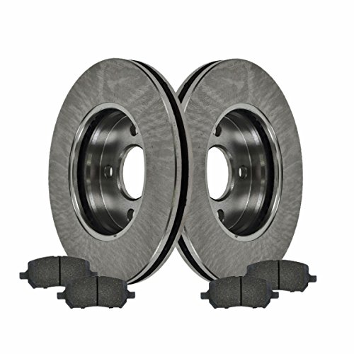 Front Ceramic Brake Pads & Rotors Kit Set for Chevy Cobalt G5 Ion 4 Lug