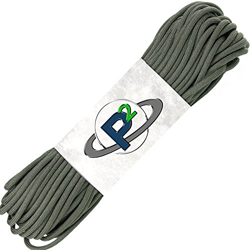 PARACORD PLANET Mil-Spec Commercial Grade 550lb Type III Nylon Paracord 10 feet Foliage by PARACORD PLANET (Image #1)