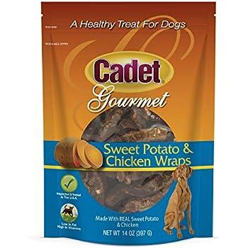 Amazon.com : Cadet Chicken Sweet Potato Dog Chew Treats