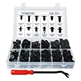 Automotive : 240 Pcs Push Retainer Kit and Free Fastener Remover,Assortment Universal Retainer Clips Push Type Retainers Set in Case Fits For GM Ford Toyota Honda Chrysler