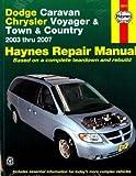 H30013 2003-2007 Dodge Caravan Chrysler Voyager Town & Country Haynes Repair Manual