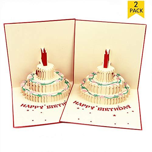 Pop Up Birthday Card,Creative 3D Birthday Cards Handmade