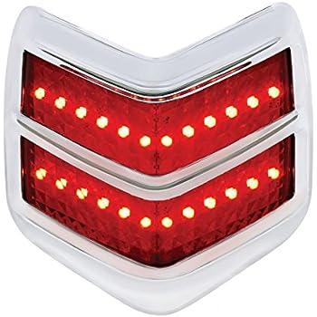 Chevrolet Tail Light License Lens//1940-1953 Passenger Cars-Plastic *CLOSE OUT*