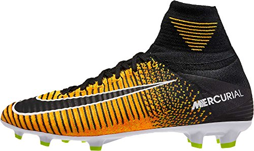 8bfaf4afb816 Nike Youth Mercurial SuperFly V FG Soccer Cleats (Laser Orange Black White