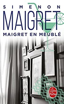 Book's Cover of Maigret en meublé