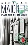Maigret en meublé par Simenon