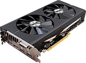 Sapphire AMD RX480 Nitro+ 4 GB GDDR5 Memory Polaris FinFET DX 12 Vulkan  FreeSync PCI-Express Graphics Card