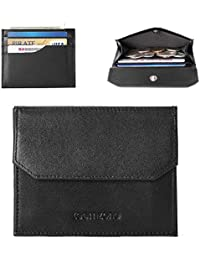 RFID Small Wallet for Men Credit Card Holder Minimalist Coin Wallet